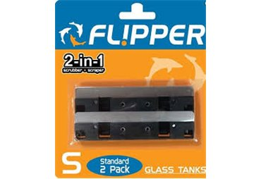 Flipper Large - nerezová čepel na sklo, 2ks (12mm)