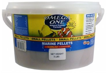 Garlic Marine pellets, sinking, kbelík, 2mm, 1 361g