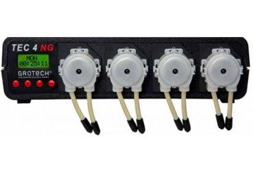 Dávkovací čerpadla GroTech Tec IV NG - 4ks řízená mikroprocesorem