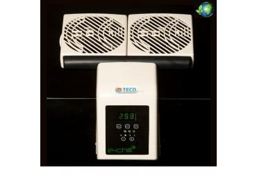 Výkonný akvarijní ventilátor TECO E-CHILL 2 pro úsporu energie